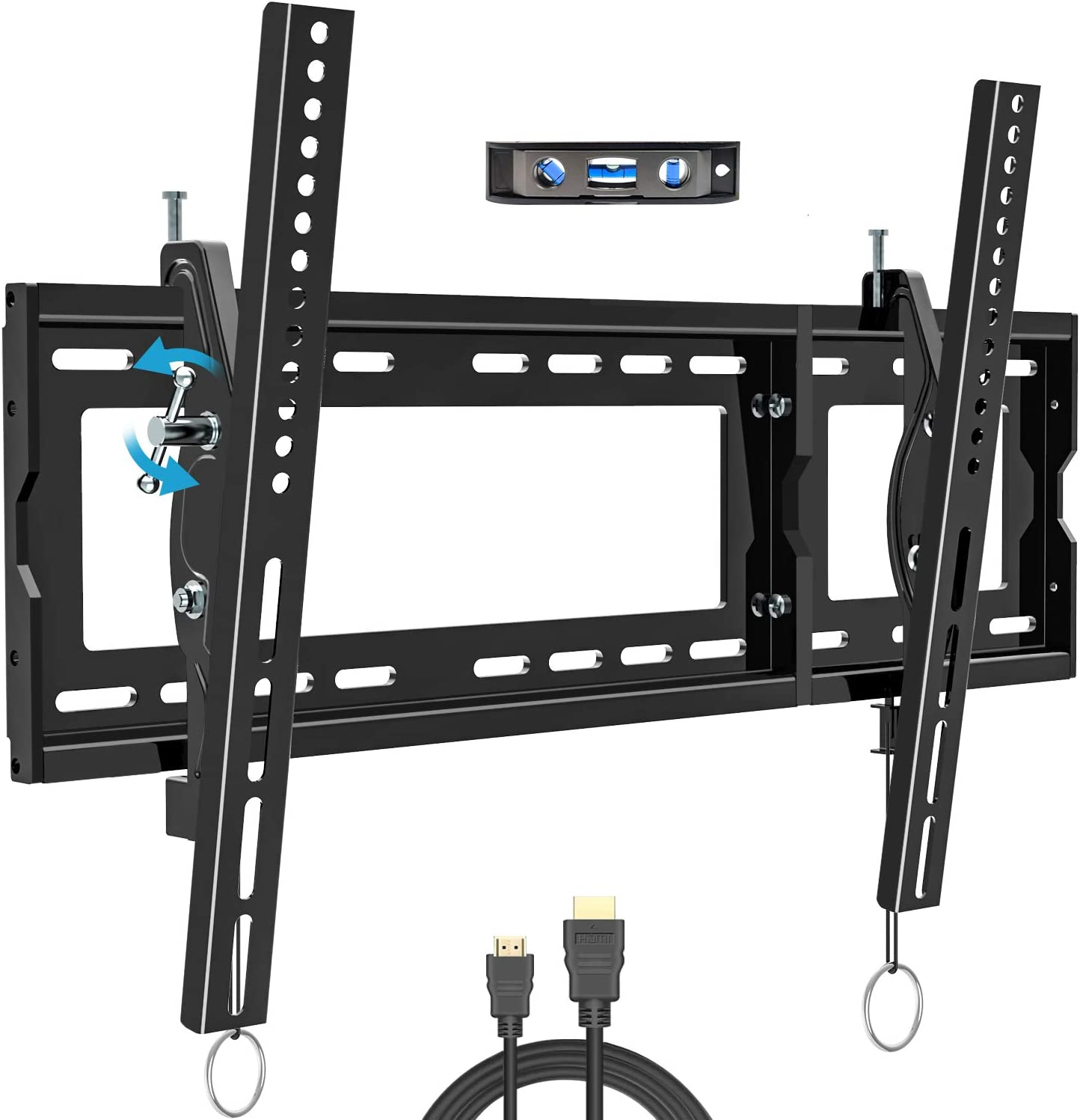 BLUE STONE Tilt TV Wall Mount Bracket for Most 32-83 Inches TVs, TV Wall Mount with VESA up to 600x400mm, Weight up to 165lbs, Fit 16