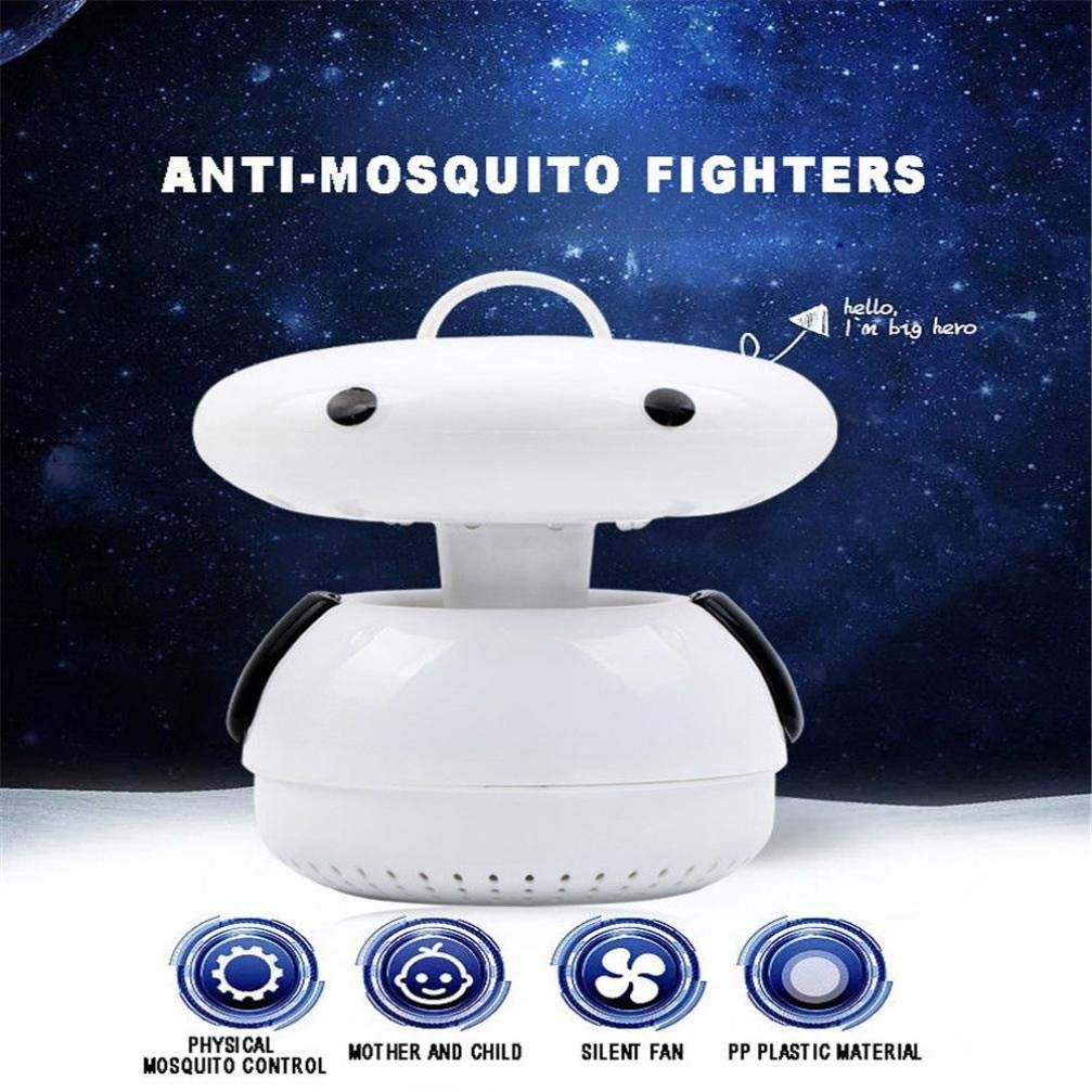 GoodLock AU Energy Electric Fly Trap Mosquito Repellent No Radiation Photocatalyst Fly Bug Killer Lamp (red) by GoodLock (Image #7)