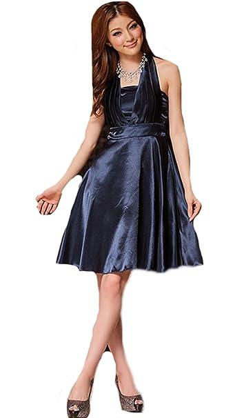 Caliente venta cóctel fiesta Prom Vestido Vestido de noche vestido de novia Noble poner en un gran bufanda vestido: Amazon.es: Ropa y accesorios