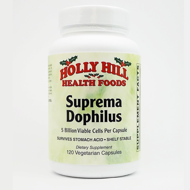 Holly Hill Health Foods, Suprema Dophilus, 120 Vegetarian Capsules by Holly Hill Health Foods