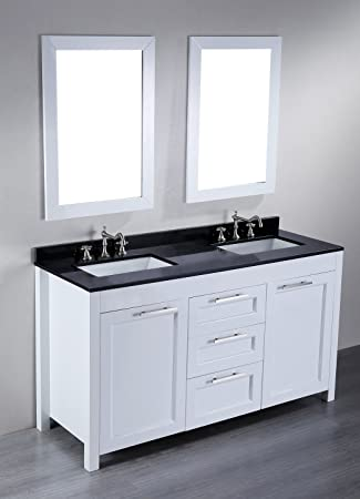 Bosconi Contemporary Double Vanity. Bosconi Contemporary Double Vanity  60 quot  SB 267   Bathroom