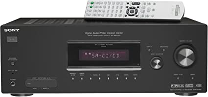 amazon com sony str dg500 6 1 channel home theater receiver rh amazon com Sony STR DG500 Receiver Specs Sony STR DG500 6 1Channel Home Theater Receiver