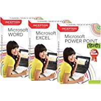 Inception India Learn Microsoft Word+Power Point+Excel (HINDI) (Inception Success Series - 3 CDs)