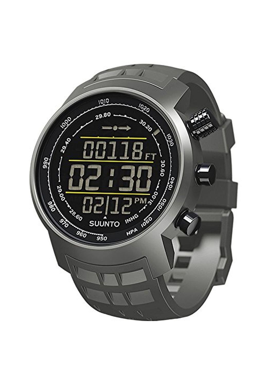 Suunto Elementum Terra Altimeter Watch Stealth Negative Grey Rubber, One Size by Suunto