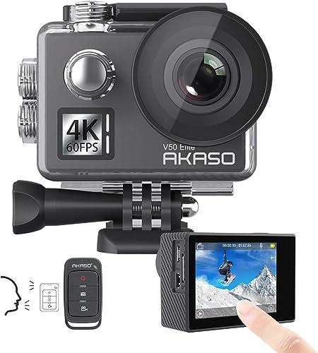 AKASO Elite V50 4K60fps WiFi Action Touch Screen Camera review