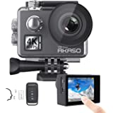 AKASO V50 Elite 4K60fps Touch Screen WiFi Action Camera Voice Control EIS Web Camera 131 feet Waterproof Camera…