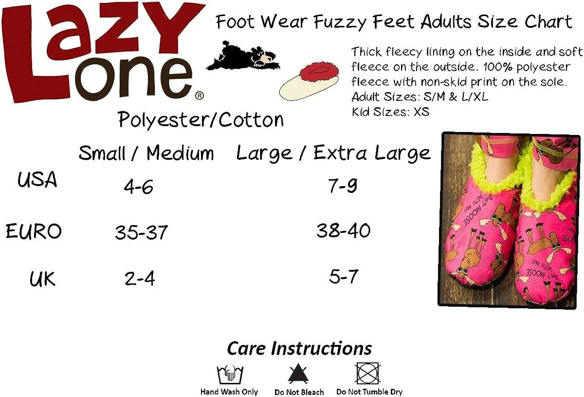 Lazyone pour femme Tweet Dreams Fuzzy pieds chaussons adulte