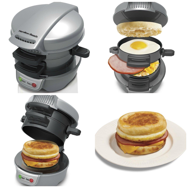 Home Care Wholesale® Electric Breakfast Sandwich Maker | Breakfast Maker