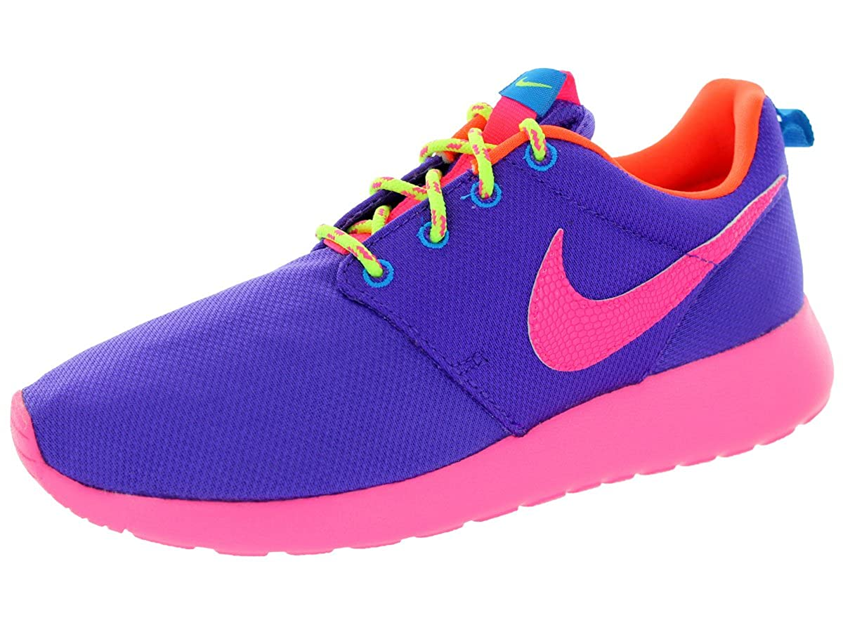c9827f1c7407 Nike Kids Rosherun (GS) Hypr Grape Hypr Pink Hypr Crimson Running Shoe 5. 5  Kids US  Buy Online at Low Prices in India - Amazon.in