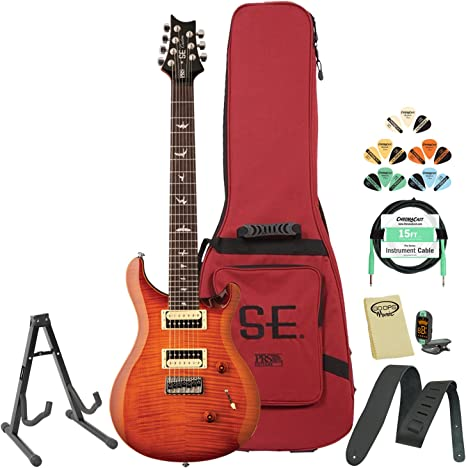 Paul Reed Smith se Custom 24 (7 cuerdas Guitarra eléctrica Kit ...