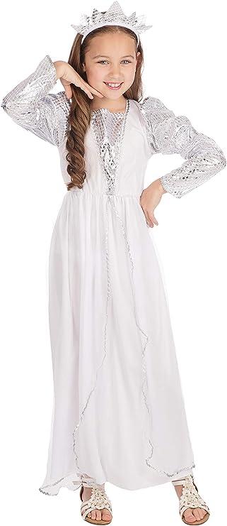 Theme Fancy Dress Disfraz de niña de Princesa de Hadas. 6-9 años ...