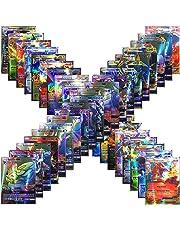 Jeux De Cartes 100 Pcs Pokemon Cartes Style TCG Holo EX Full Art 59 Cartes EX 20 Cartes Mega EX 20 Cartes GX 1 Énergie Carte Puzzle Jeu De Cartes Amusant