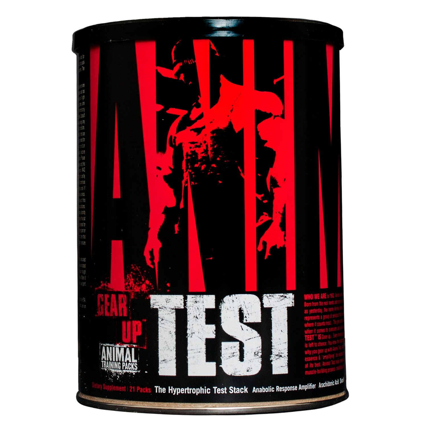 Animal Test - Testosterone Booster with Yohimbe Bark Extract and Powerful Arachidonic Acid for Maximum Muscle Growth and Strength by Animal