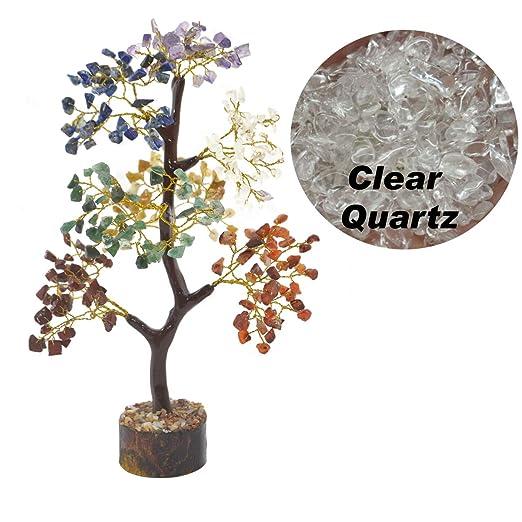 YATHABI Feng Shui Árbol de Dinero de Cristal curativo bonsái ...