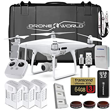 DJI Phantom 4 Pro Drone Professional Executive Kit w