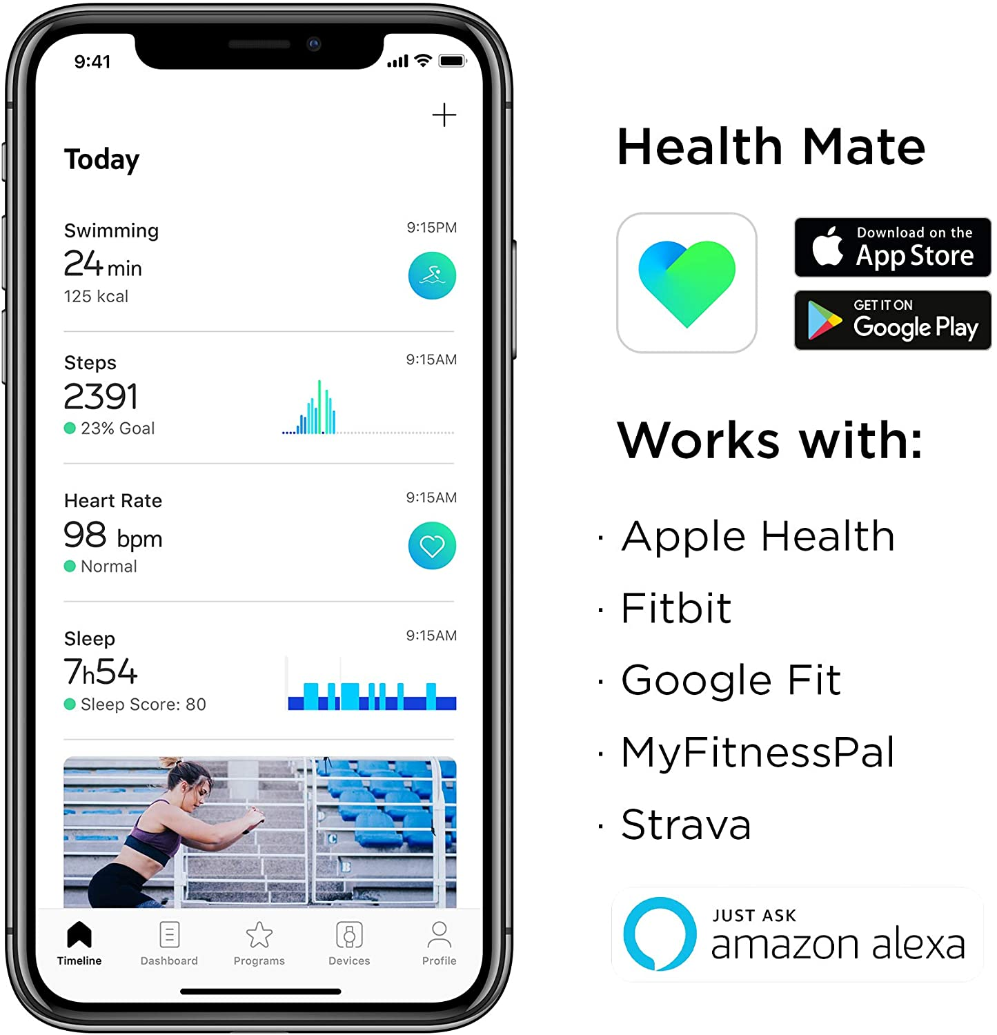 Withings Pulse HR - Health Mate