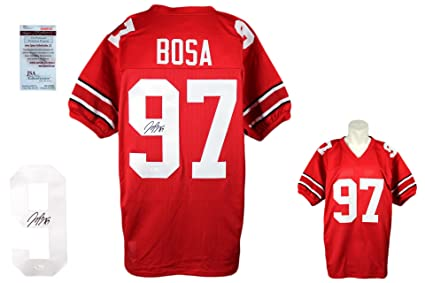 54b62b8b Joey Bosa SIGNED Custom Jersey - JSA Witnessed - Autographed at ...