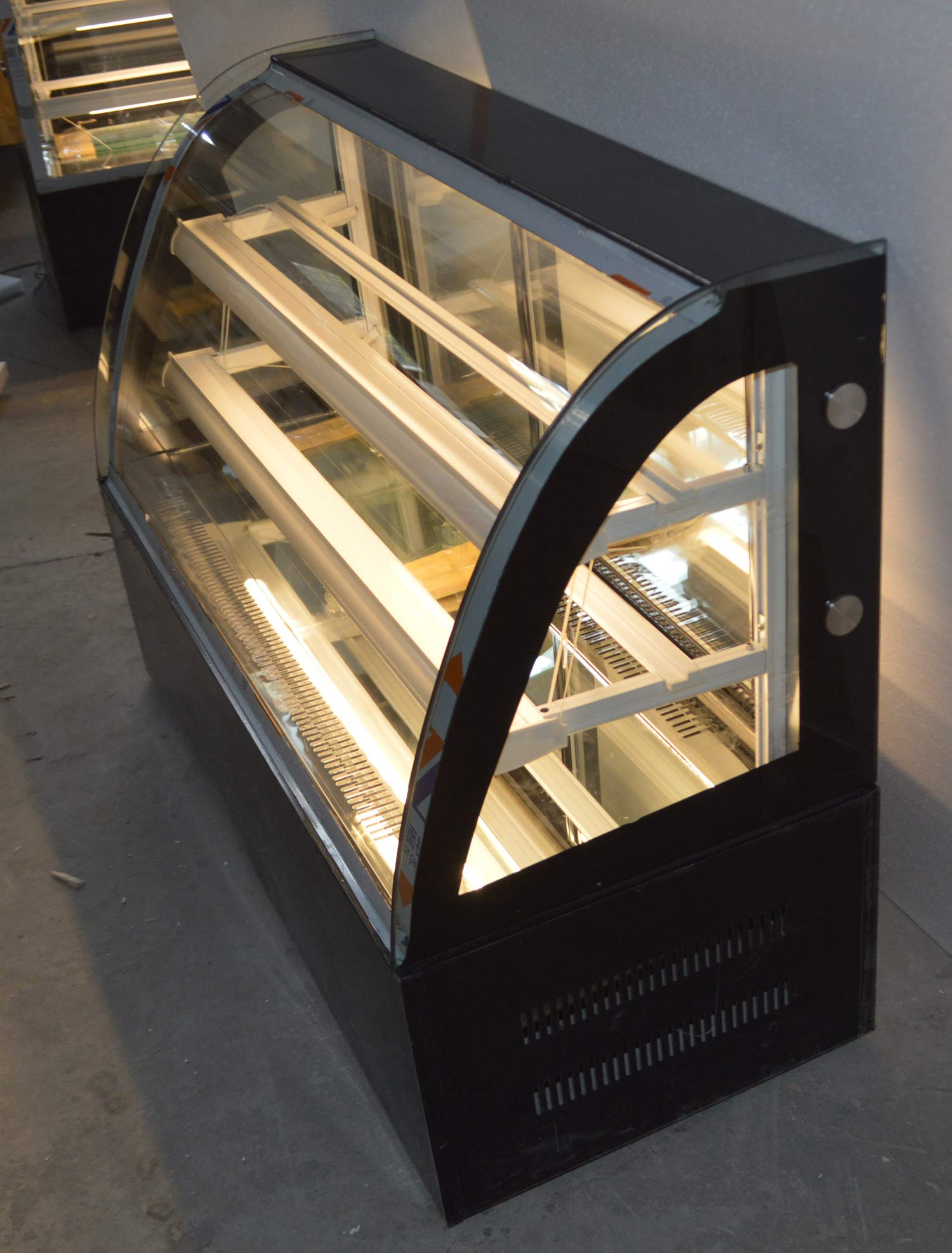INTBUYING 47'' Countertop Bekery Cabinet Display Case Glass Refrigerated Cake Showcase 220V 315W 36-46F by INTBUYING (Image #4)