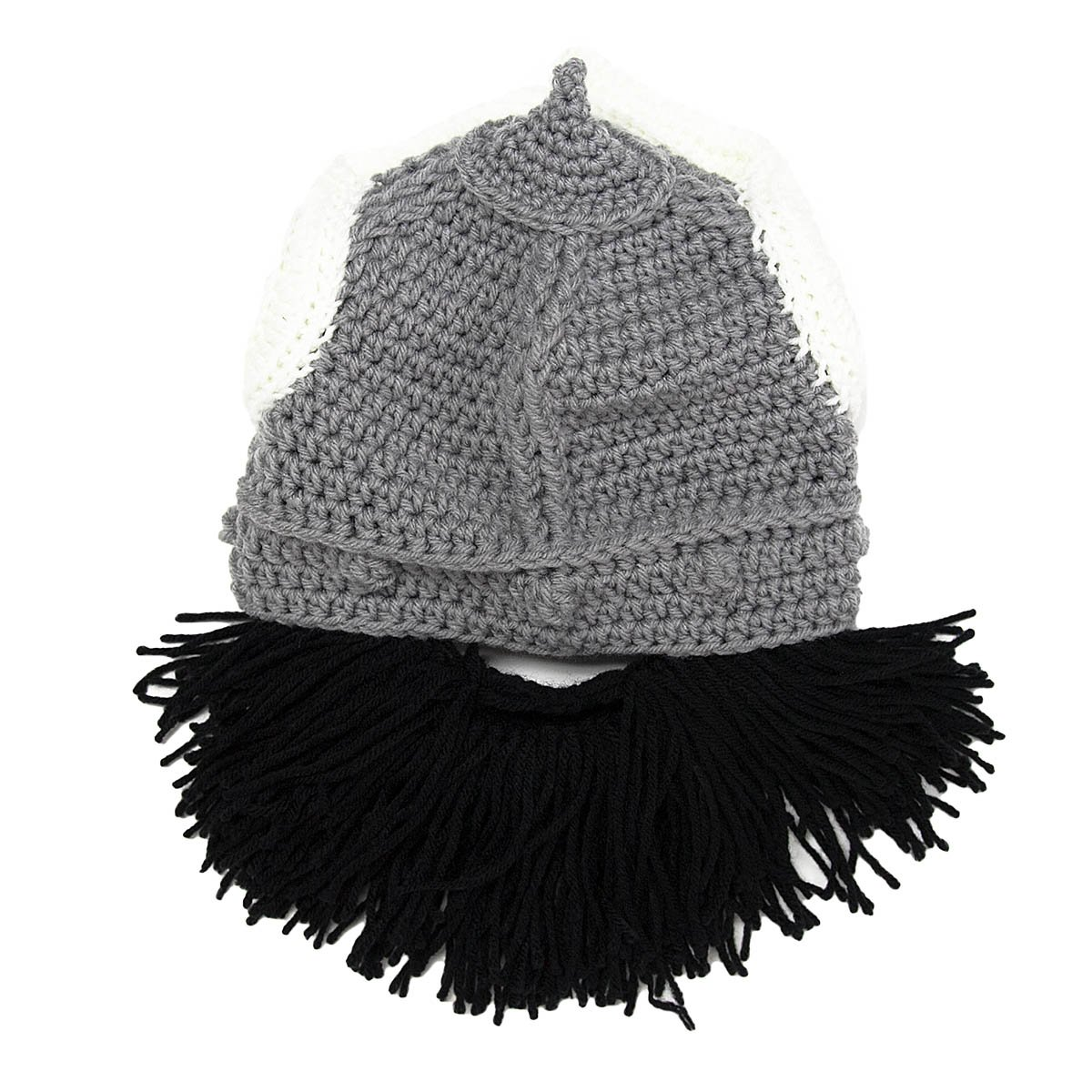 0f3f1dc5c37b85 Beard Head - The Original Barbarian Thor Knit Beard Hat - Cool ...