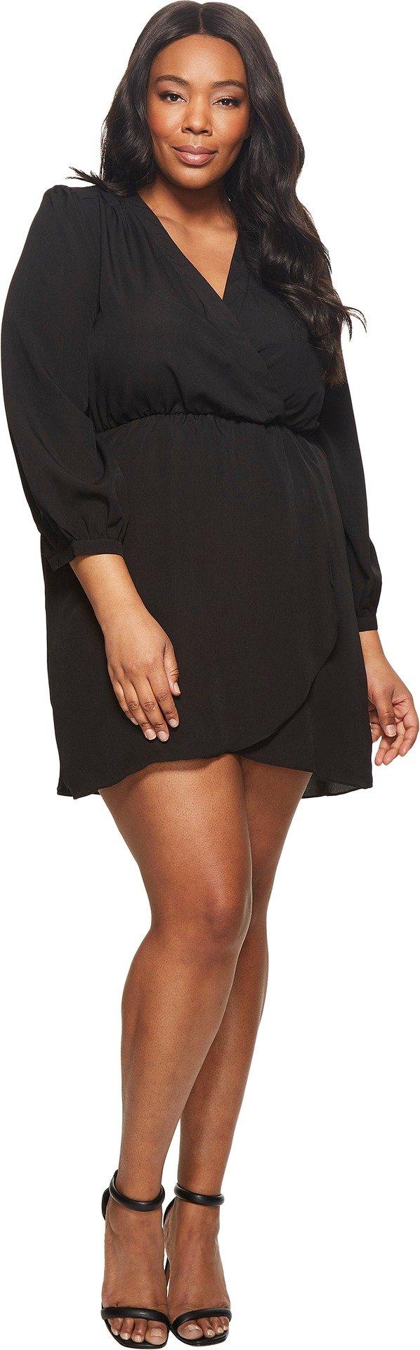 KARI LYN Womens Plus Size Demri Dress