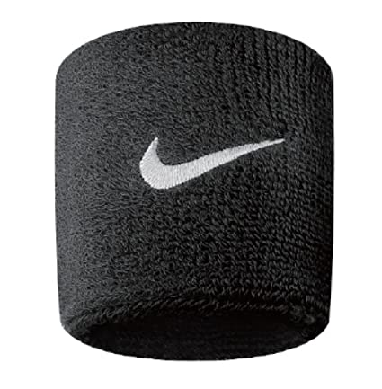Nike Swoosh Wristbands - Black