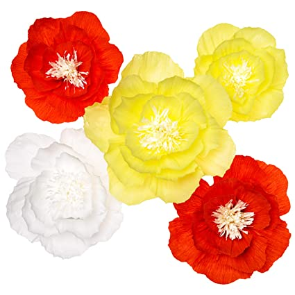Amazon Paper Flower Decorations Large Crepe Paper Flowers