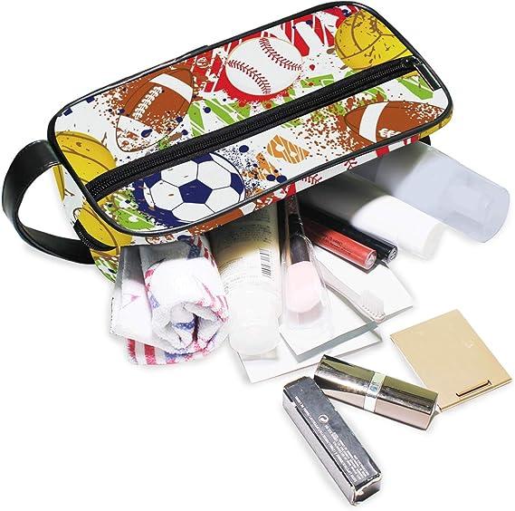Neceser de Viaje para balón de béisbol, Rugby, cosméticos, Bolsa ...
