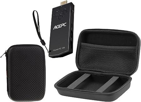 Navitech Black Graphics Tablet Case//Bag Compatible with The Parblo A610 Plus