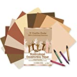 Pacon Multicultural Construction Paper, Assorted Colors, 9-Inches by 12-Inches, 50-Count (9509)