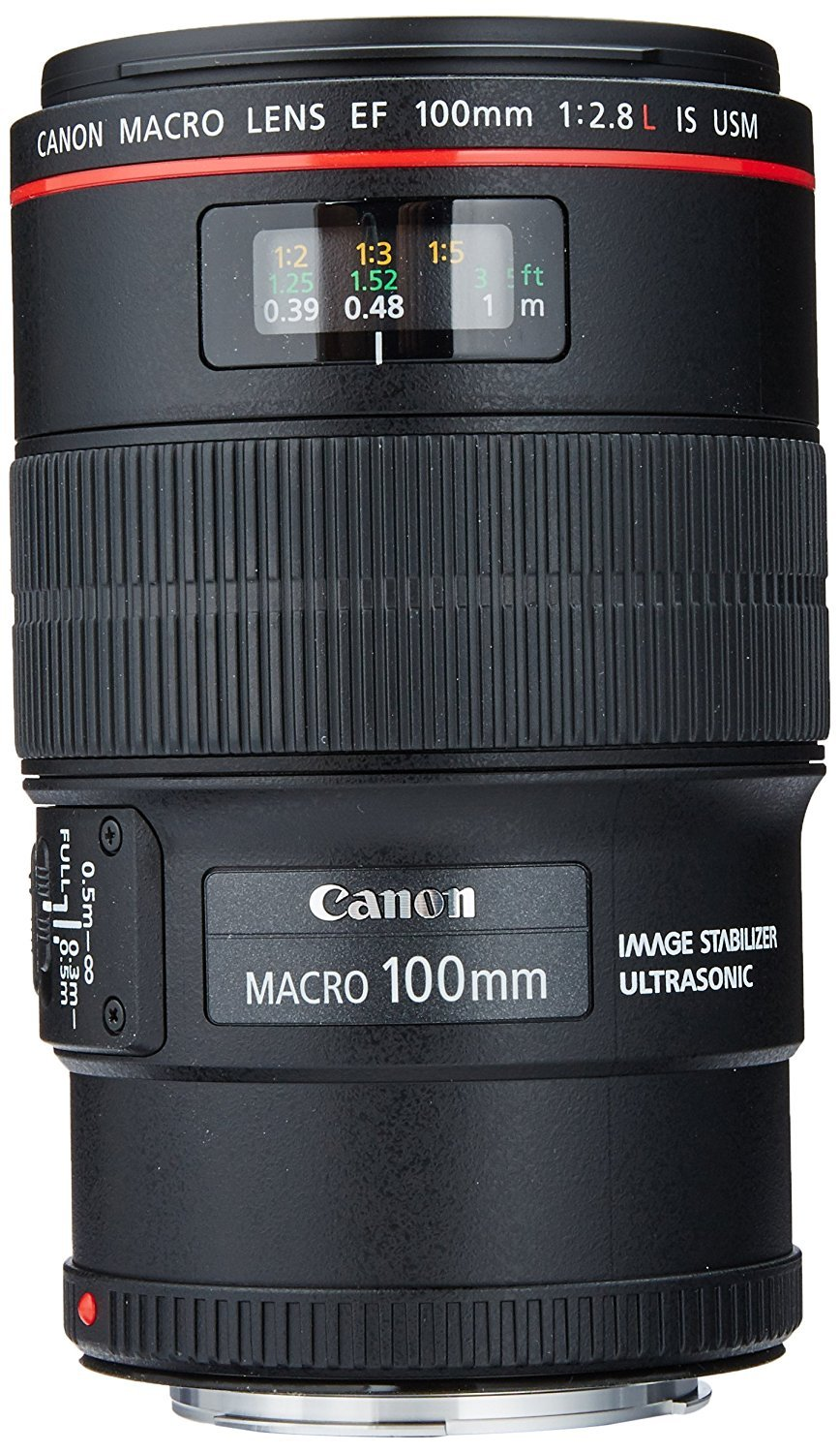 Canon EF 100mm f/2.8L IS USM Macro Lens for Canon Digital SLR Cameras by Canon