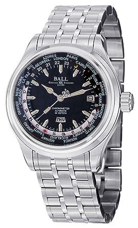 Amazon.com: Bola Trainmaster Worldtime automático reloj para ...