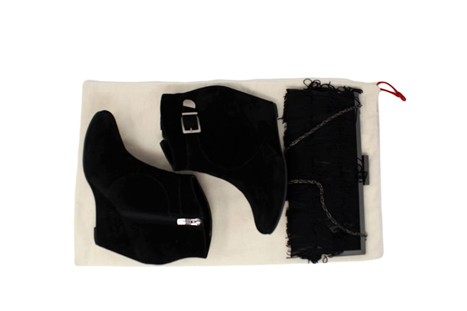 Pack of 2 Earthwise Boot Shoe Bag 100/% Cotton MADE IN THE USA with Drawstring for storing and protecting boots