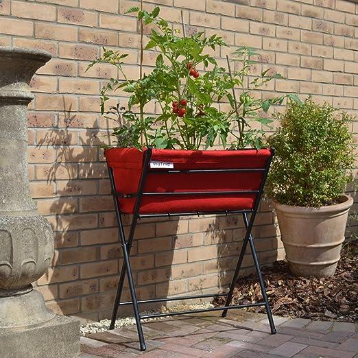 Maceta VegTrug Poppy Classic elevada para plantas, con marcos ...