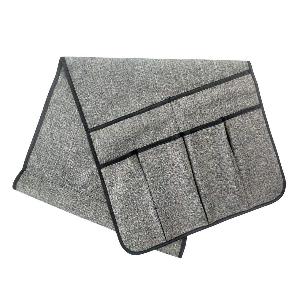Etc T/él/éphones Portables Freedomanoth Canap/é Organiseur pour Accoudoir Sac De Rangement pour Canap/é en Coton Canap/é Sac De Rangement Convient pour Stocker des T/él/écommandes