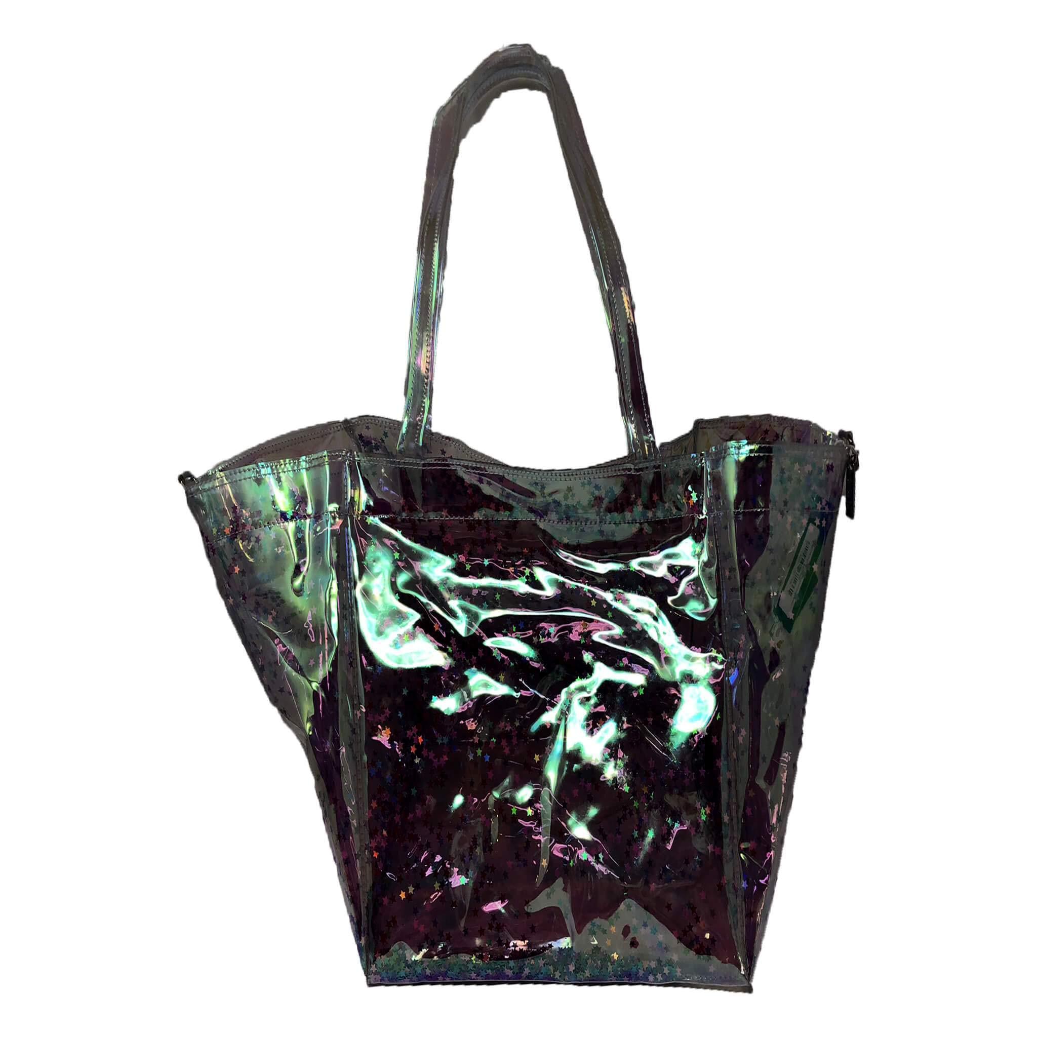 Jelly Confetti Beach Pink Stars Handbag