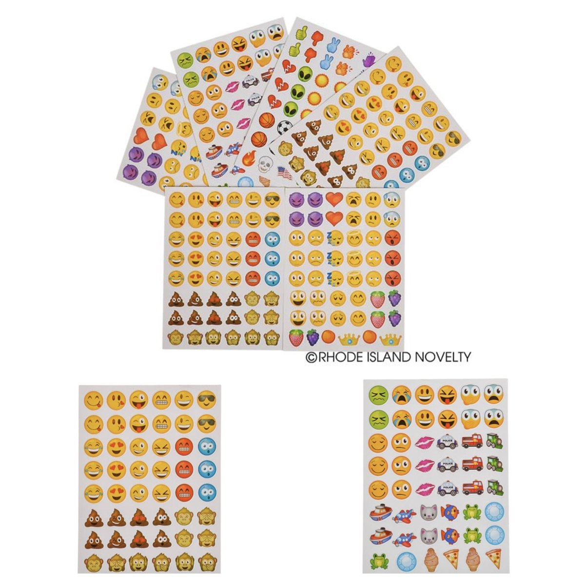 Daycare Smiley PARTIES Classroom Teachers REWARDS PARTY FAVORS 1728 EMOJI Emoticon STICKERS 36 Sheets of 48 Stickers DOCTOR 36 TATTOOS