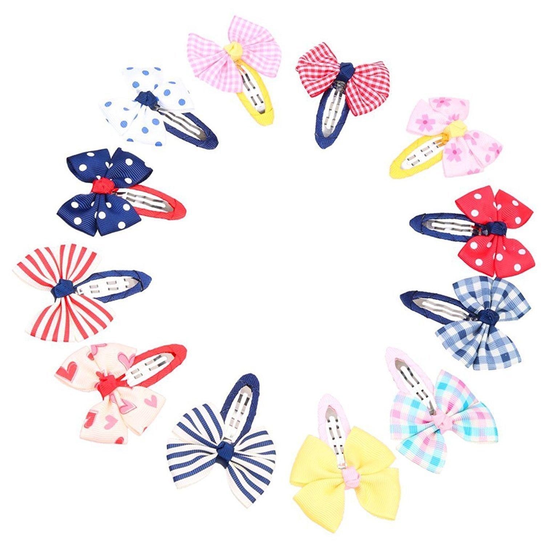 Hilai misti papillon bambini capelli mollette capelli grip Barrettes Headwear
