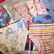 Ceguimos Lot de 6 Culottes dapprentissage lavables Coton pour b/éb/é Fille