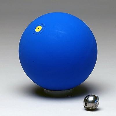 ballon de gymnastique Ø 16 cm avec grelots, couleur: bleu