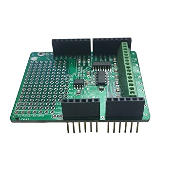 arduino thermocouple multiplexer shield (k - max31855k) (with headers):  amazon co uk: computers & accessories