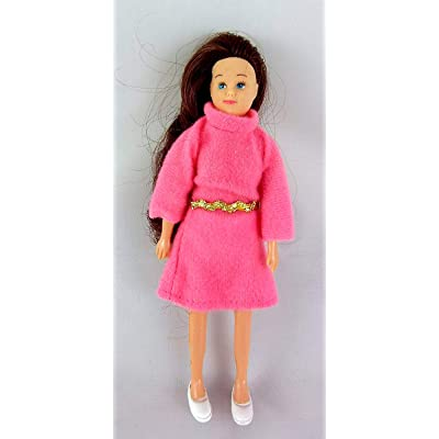 Dollhouse Miniature People Modern Brunette Mum Mother For Your Family: Toys & Games