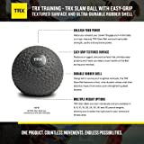 TRX Training Slam Ball with Easy-Grip Textured