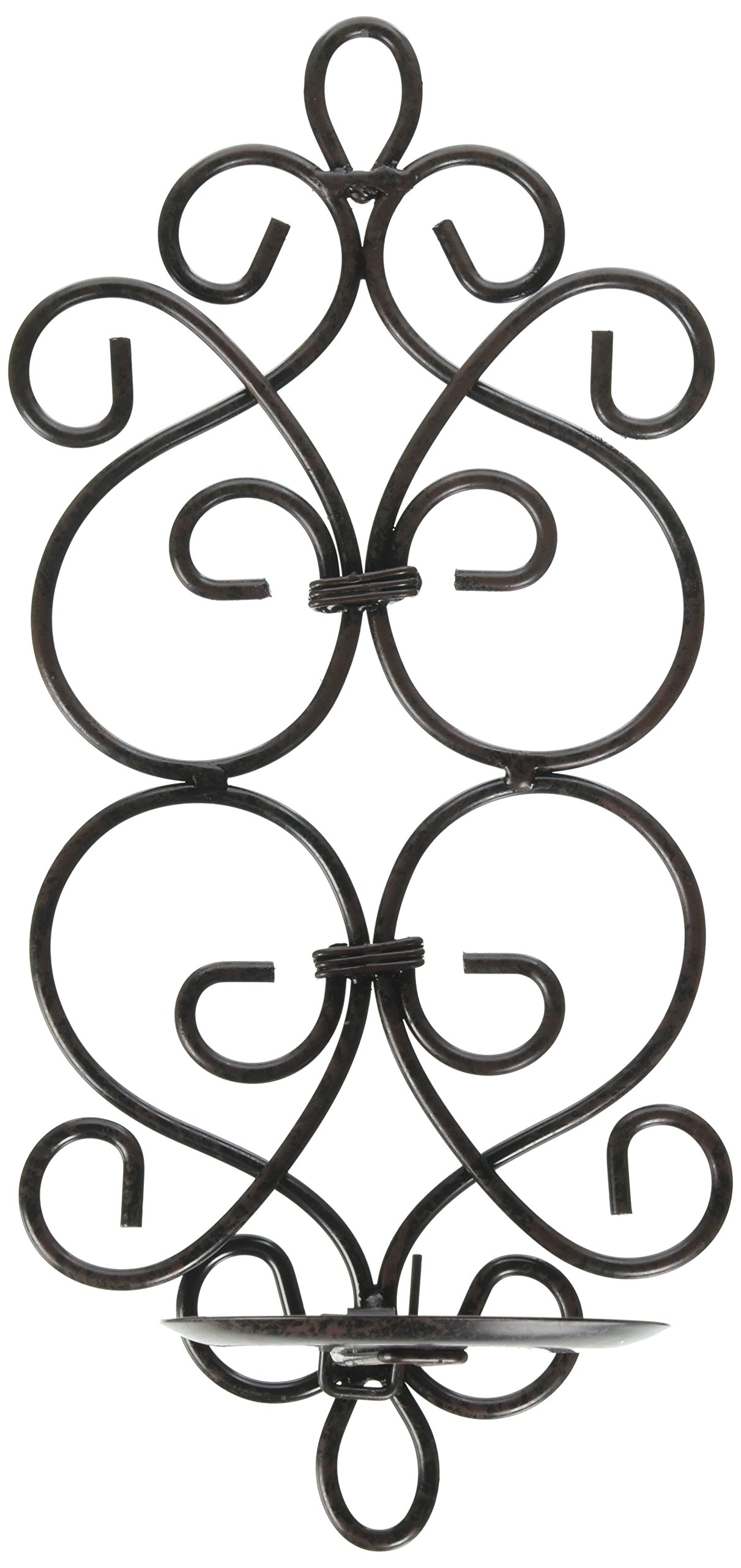 Two Sconces Set - Rustic Dazzling Sconce Candle Holder Wall Decor