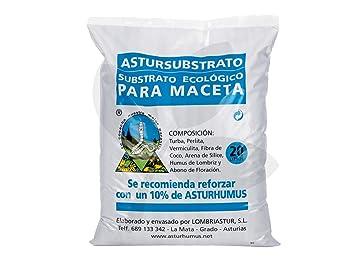 Astursubstrato Premium Maceta. 20 L - Sustrato Ecológico
