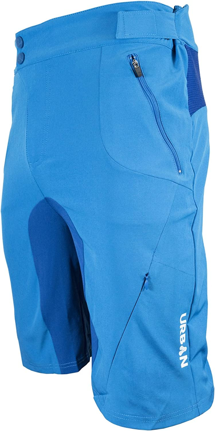 Urban Cycling Apparel Mens Gravel Grinder Bike Shirts Flex Soft Shell with Zip Pockets and Vents