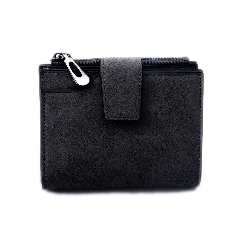 Billetera de Piel para Mujer, Estilo Vintage, tamaño pequeño ...