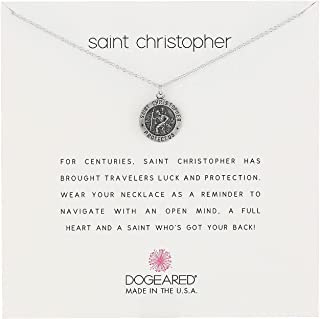 product image for Dogeared Unisex Saint Christopher Travelers Reminder Necklace