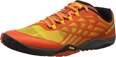 Merrell Trail Glove 4, Zapatillas Deportivas para Interior para Hombre, Naranja (Tropical Punch), 40 EU: Amazon.es: Zapatos y complementos