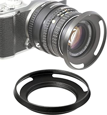 Lens Hood Metal Universal 49mm silver for Canon EF 50 mm 1.8 STM