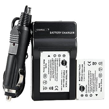 Amazon.com: DSTE 2 x Li-80B batería + DC55 de viaje y ...